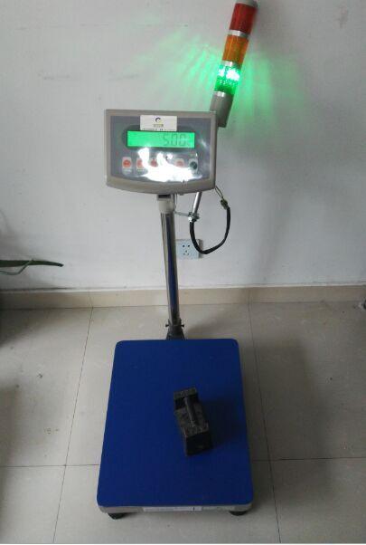 带三色灯TCS电子台秤 量程100kg 精度:10g