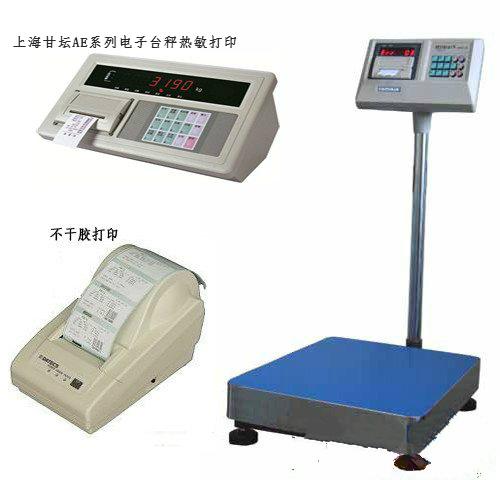 带打印电子台秤AE-75kg 现货供应.防水,防腐蚀