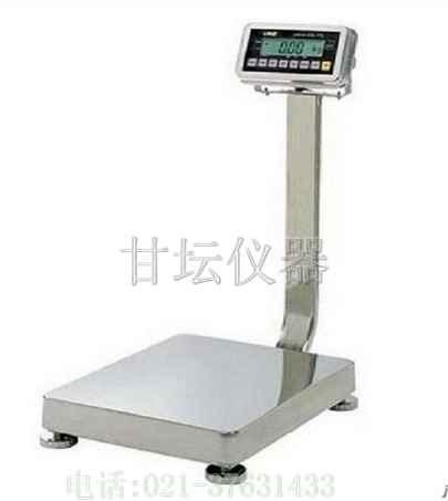 不锈钢电子平台秤ae-300kg,能在潮湿恶劣环境下精确称重